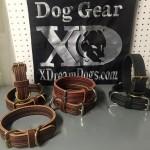 1.5 latigo leather collars