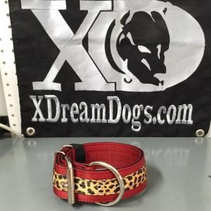 2 in dark red leopard