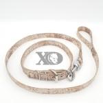 1 Collar Lead Set- Digital Camo Brown