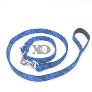 1 Collar Lead Set- Liquid Blue Outer- Black Inner