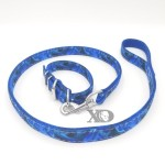 1 Collar Lead Set- Liquid Blue Outer- Blue Inner