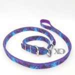 1 Collar Lead Set- Liquid Purple Outer- Purple Inner