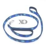 Nylon Lead Traffic Handle- Digital Camo Blue Outer, Black Inner